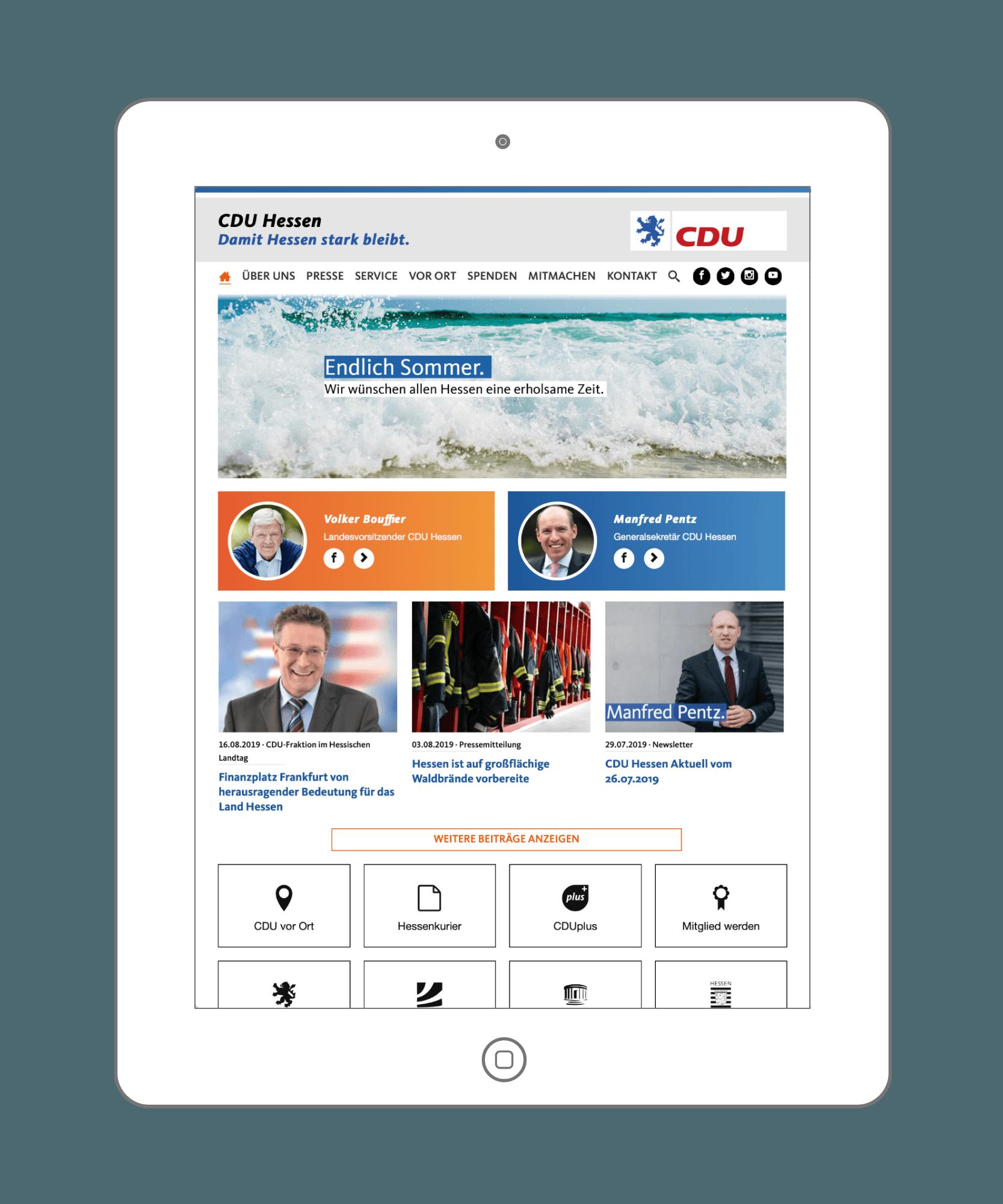 ND-Politik - Politik-Management System für Politiker und Parteien